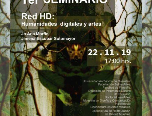 1er. Seminario RedHD: Humanidades digitales y artes